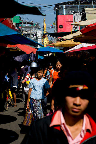 At Mae Sot's morning market, Tak, Thailand