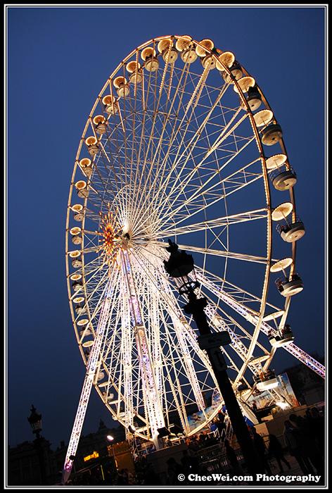 Ferries Wheel, Paris, France