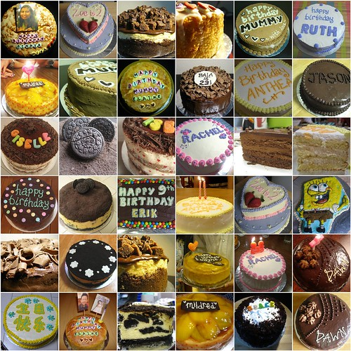 A year of cakes 2008