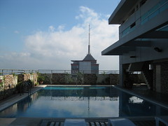 Elan Hotel Pool Deck