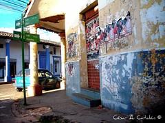 Santa Cruz de la Sierra. Bolivia. Centro de la ciudad. Beni con Arenales
