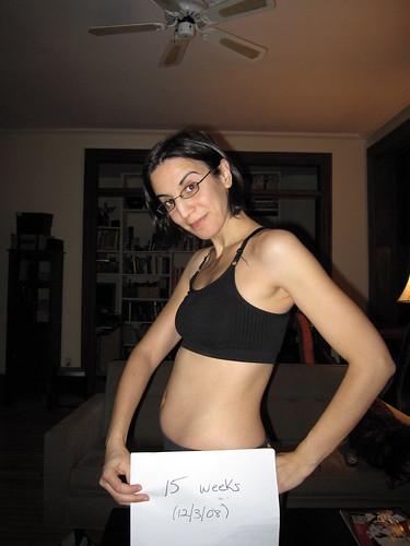 15+weeks+pregnant+belly