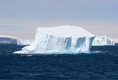 The Iceberg (Heaven`s Gate (John)) Tags: ocean cruise blue light sea white cold ice expedition landscape dramatic antarctica titanic discovery icebergs drakepassage bergybits mvdiscovery 10faves 5photosaday weddellsea 25faves johndalkin heavensgatejohn antarcticsound theiceberg