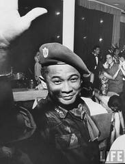 11-1963 Major General, That Dinh Ton, one of the leaders of military coup that toppled Diem Regime. 2 par VIETNAM History in Pictures (1962-1963)