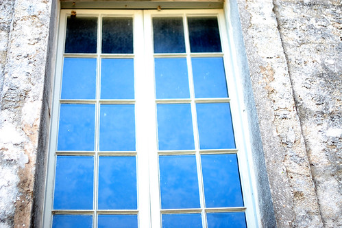 Castillo de San Marcos  window panes