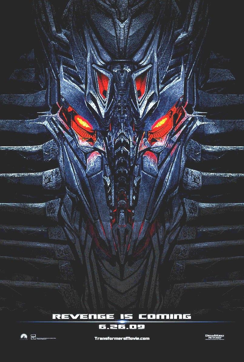 transformers 2 revenge fallen poster
