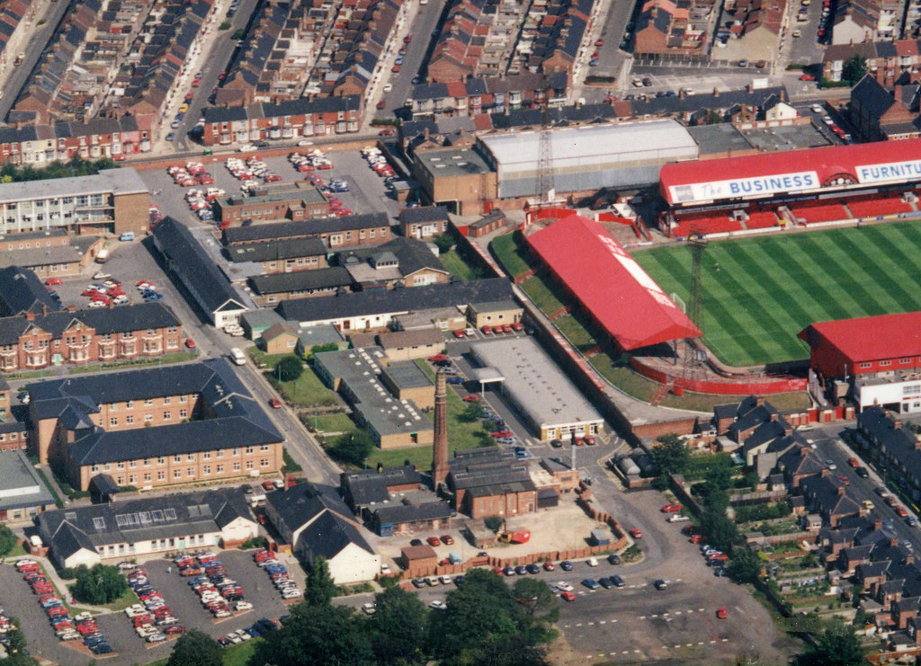 Middlesbrough General Hospital and Ayresome Park