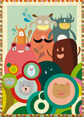 Meeting On The Other Side (www.suero-studio.com) Tags: cute illustration monsters vector suero