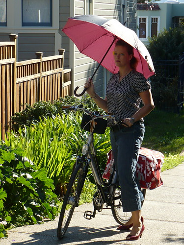 Bikes & Umbrellas Are Girly