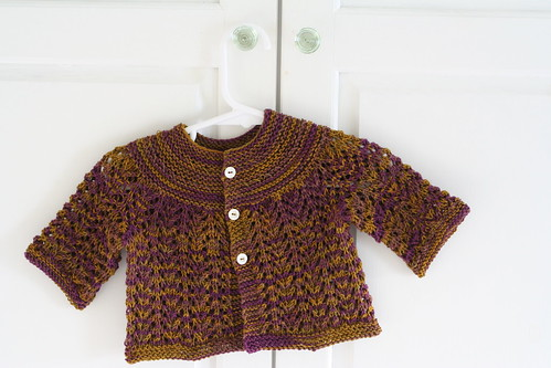 Baby Sweater on Two Needles
