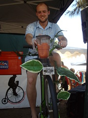 Dan Monceaux on the blend (danimations) Tags: bike bicycle blender smoothie