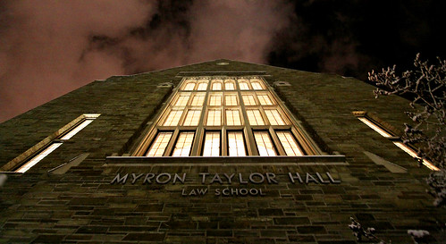 myron taylor hall.