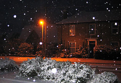Snow night (tad2106) Tags: street winter light snow lamp night scenic snowday snownight silentnight msh1209 msh120917
