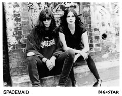 JOEY RAMONE  and LONNY POP (Lonny Pop) Tags: joeyramone theramones cbgbs girlband lonny spacemaid rockandrollradio albumnsupercool