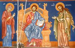Gorobinci, Macedonia, 2008 (pspetrova) Tags: fresco wallpainting iconography gorobinci