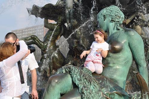 Der Neptunbrunnen von Berlin...
