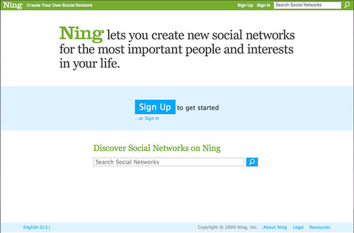 ning homepage