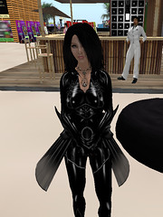 Mitya spitteler (Shiny moniree in sl) Tags: girls red black hot sexy girl fetish fire boot shiny boots top goth rubber sl latex catsuit mitya longboots secondife spitteler longboot lengthboots zipuptop lengthboot
