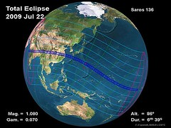 Solar Eclipse 22 July 2009