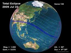 Solar Eclipse 22 July 2009