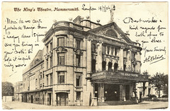 Hammersmith - The King's Theatre Prior to 1906 (pepandtim) Tags: postcard early old 33kt76 kingstheatre hammersmith 1906 london uk