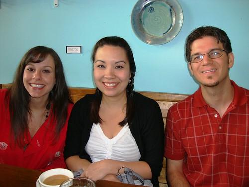Amanda, Me, and John