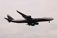 CS-TFW Arik Air Airbus A340-500 (elevationair ✈) Tags: airbus lhr a340 airliners londonheathrow hifly a345 arikair cstfw