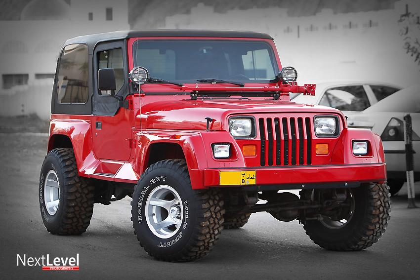 Jeep Wrangler Renegade YJ