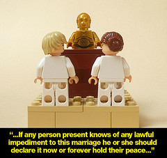 Royal wedding (Praiter Yed) Tags: robot funny comedy honeymoon anh humour princessleia carriefisher esb priest lukeskywalker legostarwars droid vicar c3po returnofthejedi anthonydaniels anewhope incest weddingnight weddingvows markhamill theempirestrikesback seethreepio rotj protocoldroid chromegold singlepanefunnies brotherandsistermarry