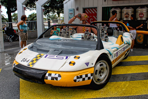 Daily Disney - Test Track Car