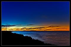 Sunset at Outer Harbor, Adelaide (toedi) Tags: sunset sun beach sonnenuntergang australia adelaide australien sonne