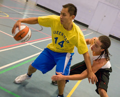 2008-02-06: Basketball - Queen Mary Training