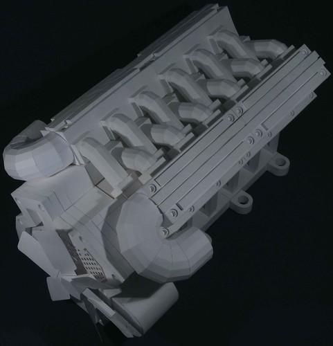origami v12 four stroke engine