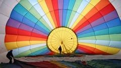 Inside a hotair Balloon (ToJoLa) Tags: travel newzealand colors canon vakantie hotair ballooning luchtballon goldenglobe methven colorphotoaward platinumheartaward