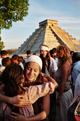 Happy Spring Equinox in Chichen Itza (HE~GOES) Tags: love primavera mexico spring energy peace mexican mexique hippie mexicano chichen equinox itza energia messico mejico equinoccio ltytr1