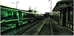 Green arrow (j.p. howley) Tags: uk bridge england bw train britain karma eastcoast mywinners avision pentaxk10d ilovemypic lincolinshire