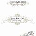 Luis Amado {pastry chef} Logo