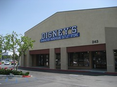 We started the day at Disney's Character Outlet Store for more shopping. (04/24/2008)