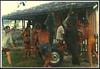 João Bida e os meros. Matinhos, Paraná . Caça submarina em 1972. (Mauricio Portelinha) Tags: praia peixe parana 1972 pesca litoral meros matinhos caça bida submarina caçasubmarina ivaiporã