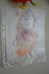 children's art doll