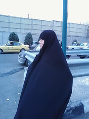 Grandmother! (Safa Karami) Tags: street woman sunlight lady iran hijab iranian tehran    chadoor