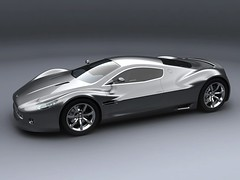 Aston Martin Supercar Concept  6