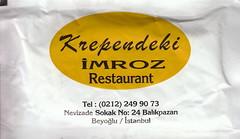 Krependeki İmroz Restaurant