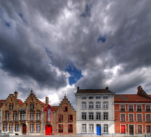 Brugge houses