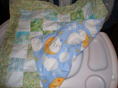 Doll quilt for La - Back