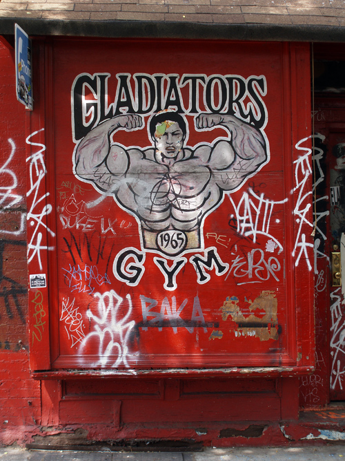 Gladiators Gym, Manhattan, New York City, NYC