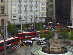 Policía (torresburriel) Tags: zaragoza policia manifestación