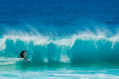 Pipeline. Ou apenas woohooooo !!!! (Paula Marina) Tags: blue usa beach azul hawaii surf waves oahu surfer tube surfers honolulu surfistas pipeline aloha tubo xxxx havai kneeboard bodyboard johncruz banzaipipeline dropknee bodyboarder ibapipelinepro imwarningyoubadenglish gettyvacation2010 paulamarina