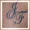 tatuagem letras nas costas TARZIA TATTOO -