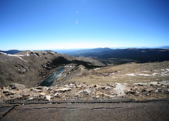 Lake from above. (hswilkinson) Tags: colorado mtevans